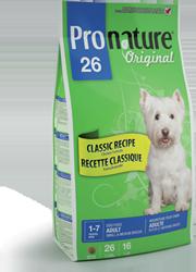Сухие корма Пронатюр для щенков и собак